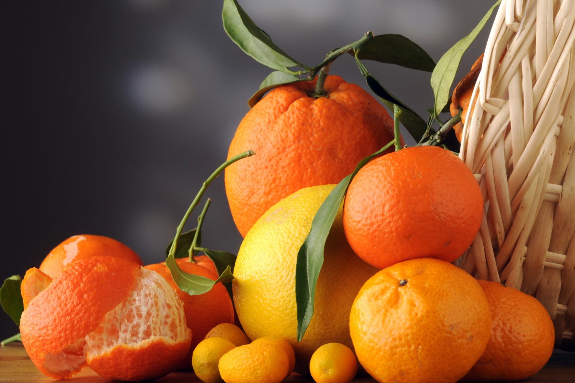 Цитрусовые продукты для здоровья кожи