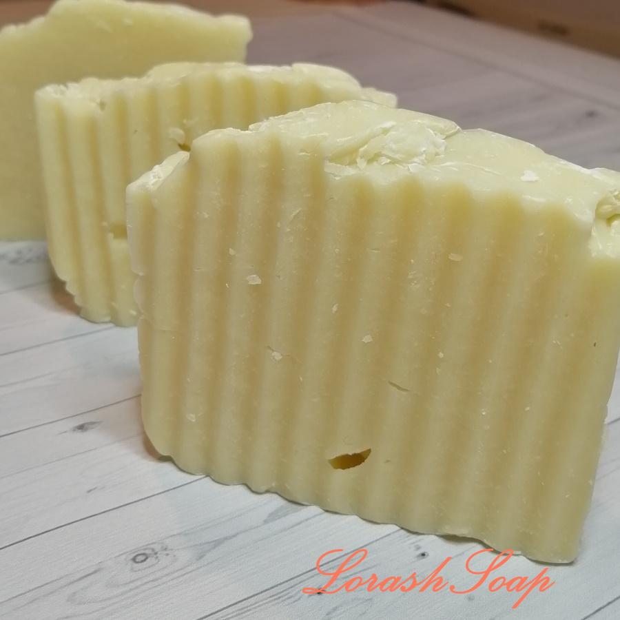 Готовые кусочки натурального мыла с нуля