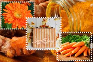 Натуральные красители для мыла - оранжевый цвет